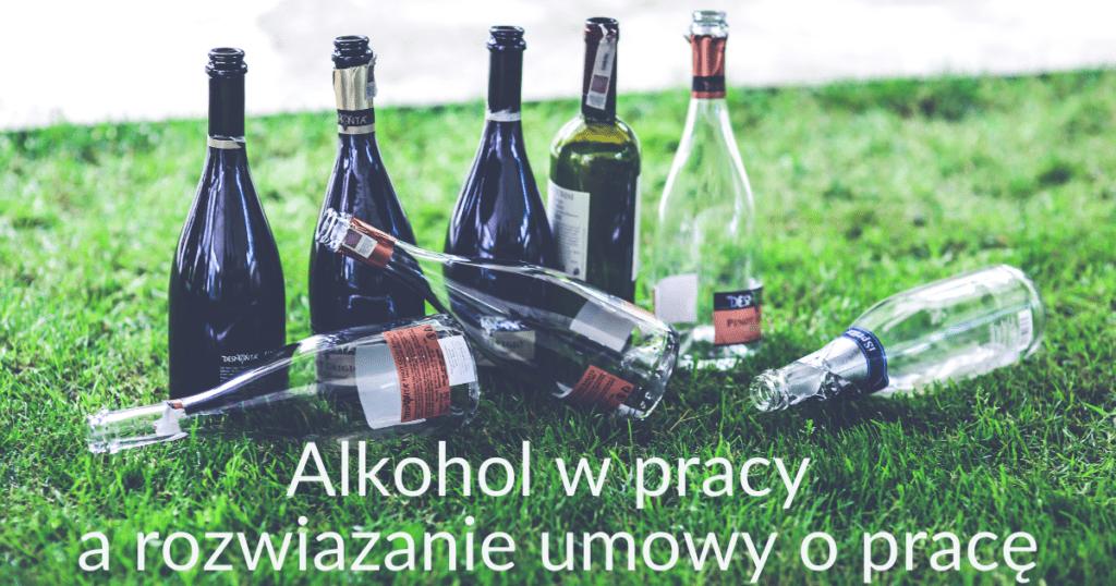 spożywanie alkoholu w pracy